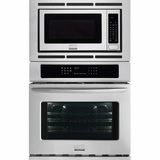 """FGMC2765PF Frigidaire Gallery 27"""" Electric Wall Oven/Microwave Combination with Convection - Smudge-Proof Stainless Steel"""