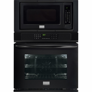 "FGMC3065PB Frigidaire Gallery 30"" Electric Wall Oven/Microwave Combination with Convection - Black"