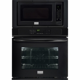 """FGMC3065PB Frigidaire Gallery 30"""" Electric Wall Oven/Microwave Combination with Convection - Black"""