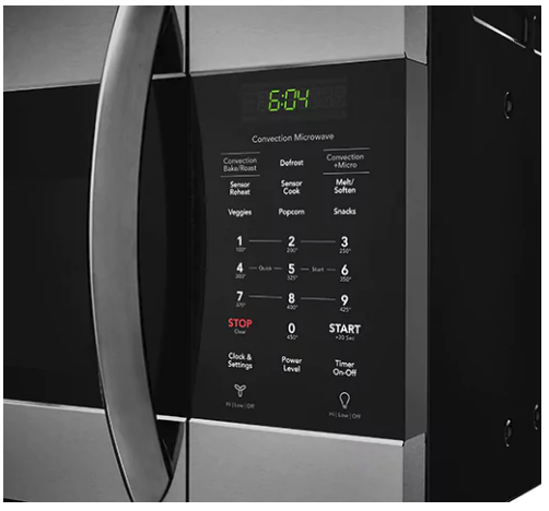 """FGMV155CTD Frigidaire  30"""" Gallery Series Over the Range Microwave with Sensor Cooking and Interior LED Lighting - Black Stainless Steel"""