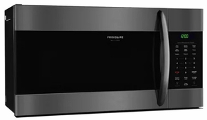 """FGMV176NTD Frigidaire Gallery 30"""" 1.7 Cu. Ft. Over-The-Range Microwave with Effortless Reheat Sensor Cooking - Black Stainless Steel"""