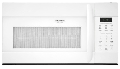FGMV176NTW Frigidaire Gallery 1.7 Cu. Ft. Over-The-Range Microwave with PureAir Filter and SpaceWise Rack - White