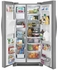 "FGSS2635TF Frigidaire 36"" Gallery Series 25.5 Cu. Ft Side by Side Refrigerator with Pure Air Ultra Filters and Store-More Glass Shelves - Smudge-Proof Stainless Steel"