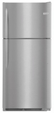 """FGTR2037TF Frigidaire 30"""" Gallery Series Top Mount 20.4 Cu. Ft.  Refrigerator with Humidity Controlled Crisper Drawers and SpillSafe Shelves - Stainless Steel"""