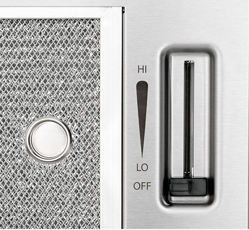 "FH36DD50MS Frigidaire 36"" Downdraft with Washable Filters - Stainless Steel"