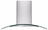 "FHPC4260LS Frigidaire 42"" Glass Canopy Island Hood - Stainless Steel"