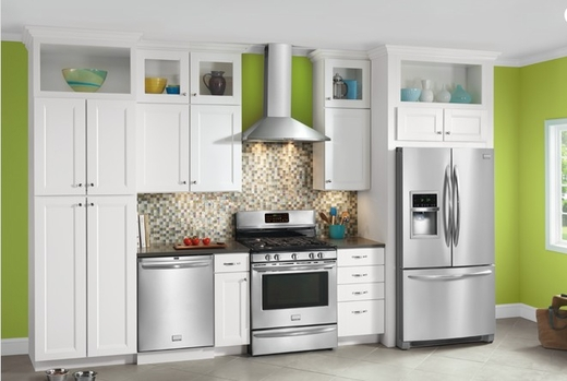 FHWC3060LS Frigidaire 30'' Glass Canopy Wall-Mount Hood with Dual Fans - Stainless Steel