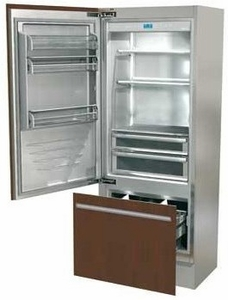 "FI30BILO Fhiaba Integrated Series 30"" Bottom Freezer Drawer Refrigerator with TriMode - Left Hinge - Custom Panel"
