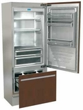 "FI30BIRO Fhiaba Integrated Series 30"" Bottom Freezer Drawer Refrigerator with TriMode - Right Hinge - Custom Panel"