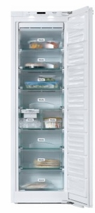 """FNS37492IE Miele 22"""" PerfectCool Reversible Hinge Built-In All Freezer Column with NoFrost System and VarioRoom - Custom Panel"""
