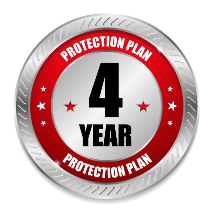 FOUR YEAR Major Appliance over $2500 - Service Protection Plan