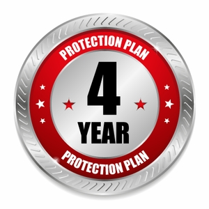 FOUR YEAR Major Appliance under $2500 - Service Protection Plan