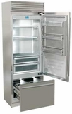 "FP30BIRS Fhiaba X-Pro Series 30"" Bottom Freezer Drawer Refrigerator with TriMode - Right Hinge - Stainless Steel"