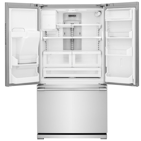 "FPBC2277RF 36"" Frigidaire Professional 22.6 Cu. Ft. French Door Counter-Depth Refrigerator with PureAir Ultra Filtration System - Stainless Steel"