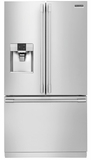 """FPBC2277RF 36"""" Frigidaire Professional 22.6 Cu. Ft. French Door Counter-Depth Refrigerator with PureAir Ultra Filtration System - Stainless Steel"""