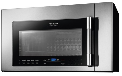 Fpbm3077rf Frigidaire Professional 1 8 Cu Ft 2 In Over The Range Convection Microwave Stainless Steel