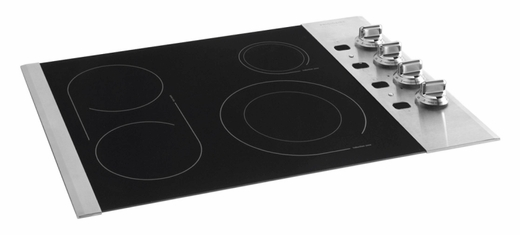 "FPEC3085KS Frigidaire Professional 30"" Electric Drop-In Cooktop - Black with Stainless Steel"