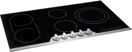 """FPEC3677RF Frigidaire 36"""" Professional Electric Cooktop with 6-Element Smooth Surface - Stainless Steel"""