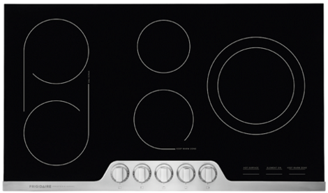 "FPEC3677RF Frigidaire 36"" Professional Electric Cooktop with 6-Element Smooth Surface - Stainless Steel"