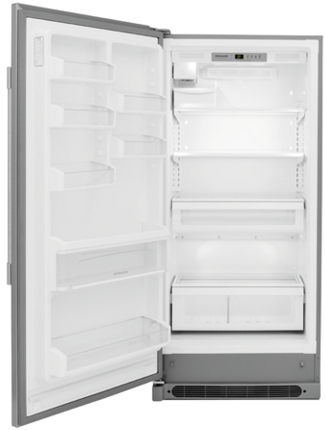 "FPFU19F8RF Frigidaire 32"" Professional 19 Cu. Ft. All Freezer - Stainless Steel"
