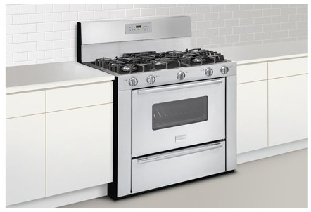 """FPGF3685LS Frigidaire Professional 36"""" Freestanding Gas Range with Sealed Burners - Stainless Steel"""