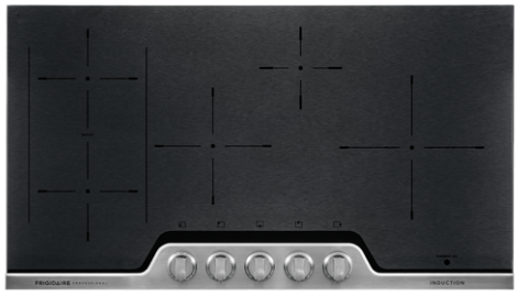 "FPIC3677RF Frigidaire 36"" Professional Induction Cooktop with PowerPlus Induction Technology - Black"