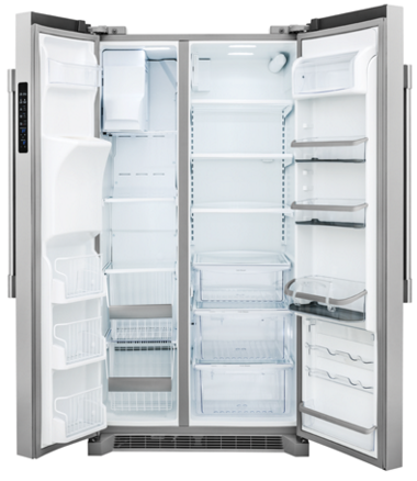 """FPSC2277RF Frigidaire Professional 36"""" 22.6 Cu. Ft. Counter Depth Side-by-Side Refrigerator - Stainless Steel"""