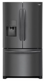 Frigidaire French Door Refrigerators - Black Stainless Steel