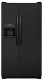 Frigidaire Side-by-Side Refrigerators - Black and White