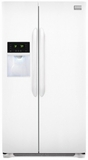 Frigidaire Side-by-Side Refrigerators - White