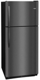 Frigidaire Top Mount Refrigerators BLACK STAINLESS STEEL