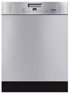 "G4228SCUSS Miele 24"" Futura Classic Series Full Size Dishwasher with Cutlery Tray and AutoSensor Technology - Clean Touch Stainless Steel"