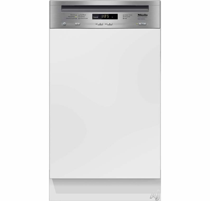 G4700sci Miele Futura Slimline Series 18 Dishwasher With