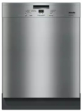 """G4926SCUSS Miele 24"""" Full Console Dishwasher with Double Waterproof System and AutoSensor Technology - Clean Touch Stainless Steel"""