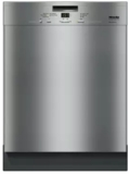 """G4926USS Miele 24"""" Full Console Dishwasher with AutoSensor Technology and Double Waterproof System - Clean Touch Stainless Steel"""