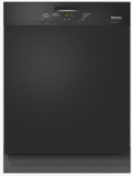 "G4948SCUBL Miele 24"" Pre-Finished Full Size Dishwasher with Visible Control Panel and 5 Programs - Black"