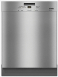 "G4948USS Miele 24"" Pre-Finished Full Size Dishwasher with Visible Control Panel and 5 Programs - Stainless Steel"