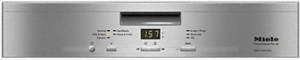 """G4948SS Miele 24"""" Pre-Finished Full Size Dishwasher with Visible Control Panel and 5 Programs - Stainless Steel"""