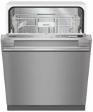 """G4976VISF Miele 24"""" Fully Integrated Dishwasher with AutoSensor Technology and CleanAir Drying - Clean Touch Stainless Steel"""