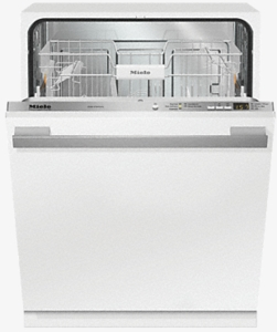 "G4998VI Miele 24"" Fully-Integrated Full-Size Dishwasher with Hidden Control Panel and Cutlery Basket - Custom Panel"