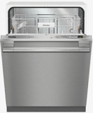 "G4998VISF Miele 24"" Fully-Integrated Full-Size Dishwasher with Hidden Control Panel and Cutlery Basket - Stainless Steel"