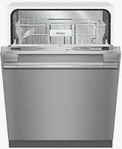 """G4998VISF Miele 24"""" Fully-Integrated Full-Size Dishwasher with Hidden Control Panel and Cutlery Basket - Stainless Steel"""