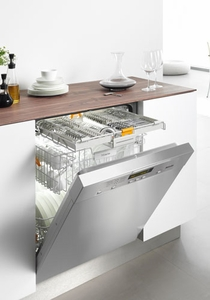 G5605SC Miele Futura Dimension Pre-Finished Dishwasher with Cutlery Tray - Clean Touch Stainless Steel