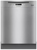 "G6745SCUSS Miele 24"" Full Console Dishwasher with AutoSensor Technology and QuickIntenseWash - Clean Touch Stainless Steel"