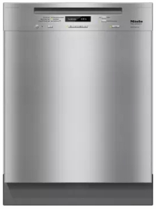 """G6745SCUSS Miele 24"""" Full Console Dishwasher with AutoSensor Technology and QuickIntenseWash - Clean Touch Stainless Steel"""