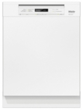 "G6745SCUWH Miele 24"" Full Console Dishwasher with AutoSensor Technology and QuickIntenseWash - White"