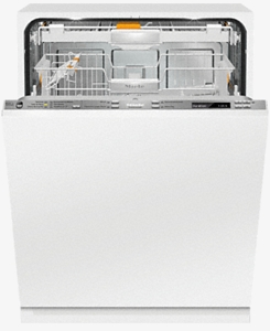 "G6880SCVIK2O Miele 24"" Lumen Series Built In Fully Integrated Dishwasher with Knock2Open  and AutoSensor Technology - Custom Panel"