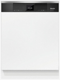 """G6935SCI Miele 24"""" Futura Diamond Series Energy Star Qualified Dishwasher with Visible Control Panel and 3D Cutlery Tray - Custom Panel"""