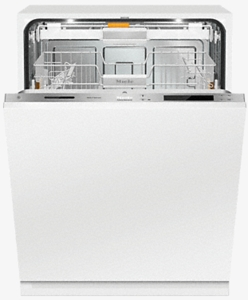 """G6987SCVIK2O Miele 24"""" Fully Integrated Dishwasher with Hidden Control Panel and Knock2Open - Custom Panel"""