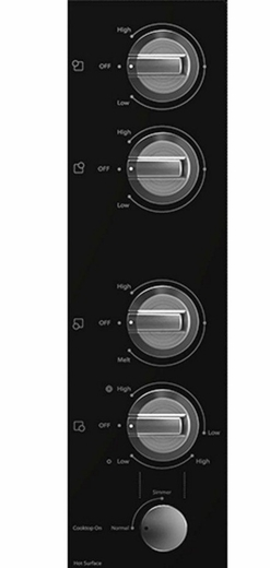 Black Whirlpool Electric Cooktops ~ G ce xs whirlpool gold quot electric cooktop black on